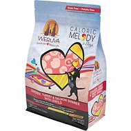 Weruva Caloric Melody Chicken, Turkey & Salmon Dinner with Lentils Grain-Free Dry Dog Food, 4-lb bag