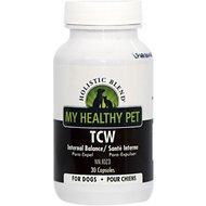 Holistic Blend My Healthy Pet TCW Natural Wormer for Dogs & Cats, 30 count