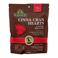 Holistic Blend Cinna Cran Hearts Biscuits for Dogs, 8.29-oz bag