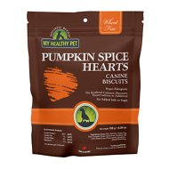 Holistic Blend Pumpkin Spice Hearts Biscuits for Dogs, 8.29-oz bag