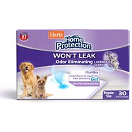 Hartz Home Protection Lavender Scent Odor Eliminating Dog Pads, 21 x 21 in, 30 count