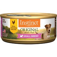 Instinct by Nature's Variety Original Small Breed Grain-Free Real Chicken Recipe Natural Wet Canned Dog Food, 5.5-oz, case of 12