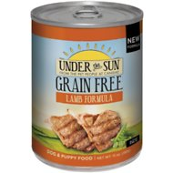 Under the Sun Grain-Free Lamb Formula Canned Dog Food, 13-oz, case of 12