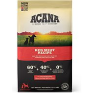 ACANA Red Meat Formula Beef, Pork & Lamb Grain-Free Dry Dog Food, 25-lb bag