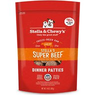 Stella & Chewy's Stella's Super Beef Dinner Patties Freeze-Dried Raw Dog Food, 25-oz bag