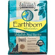 Earthborn Holistic Grain-Free Whitefish Meal Recipe Dog Treats, 2-lb bag