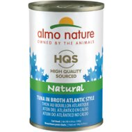 Almo Nature Natural Tuna Atlantic Style in Broth Grain-Free Canned Cat Food, 4.94-oz, case of 24