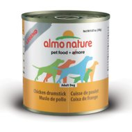 Almo Nature Natural Chicken Drumstick Adult Grain-Free Canned Dog Food, 3.35-oz, case of 24