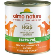 Almo Nature Natural Chicken Drumstick Adult Grain-Free Canned Dog Food, 9.88-oz, case of 12