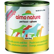 Almo Nature Legend Homemade Style Chicken with Carrots Adult Grain-Free Canned Dog Food, 9.88-oz, case of 12