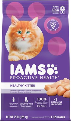 8. Iams ProActive Health Kitten Dry Cat Food