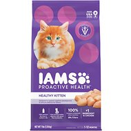 Iams ProActive Health Kitten Dry Cat Food, 7-lb bag