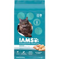 Iams ProActive Health Indoor Weight & Hairball Care Dry Cat Food, 22-lb bag