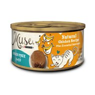 Purina Muse Natural Grain-Free Pate Canned Cat Food, Chicken Recipe, 3-oz, case of 24