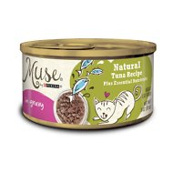 Purina Muse Natural in Gravy Canned Cat Food, Tuna Recipe, 3-oz, case of 24