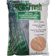 Next Gen Pet Products Forest Fresh Natural Clumping Extra Strength Cat Litter, 5.3-lb bag