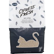 Next Gen Pet Products Cypress Fresh Natural Odor Control with Green Tea Clumping Cat Litter