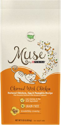 Purina Muse Charmed With Chicken Natural Chicken Egg Pumpkin