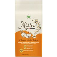 Purina Muse Charmed with Chicken Natural Chicken, Egg & Pumpkin Recipe Grain-Free Adult Dry Cat Food, 9-lb bag