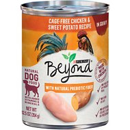 Purina Beyond Chicken & Sweet Potato Recipe in Gravy Grain-Free Canned Dog Food, 12.5-oz, case of 12