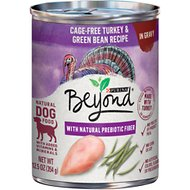 Purina Beyond Turkey & Green Bean Recipe in Gravy Grain-Free Canned Dog Food, 12.5-oz, case of 12