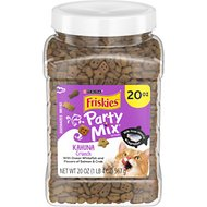 Friskies Party Mix Crunch Kahuna Cat Treats, 20-oz jar