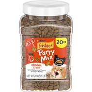 Friskies Party Mix Crunch Original Cat Treats, 20-oz jar