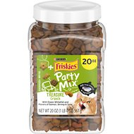 Friskies Party Mix Crunch Treasure Island Cat Treats, 20-oz jar