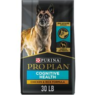 Purina Pro Plan Bright Mind Adult Chicken & Rice Formula Dry Dog Food, 30-lb bag