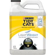 Tidy Cats Lightweight 4-in-1 Scented Clumping Clay Cat Litter, 8.5-lb jug
