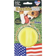 Ruff Dawg KnuckleBall Flavored Dog Toy, Roast Turkey