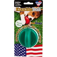 Ruff Dawg KnuckleBall Flavored Dog Toy, Fresh-Breath Mint