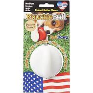 Ruff Dawg KnuckleBall Flavored Dog Toy, Peanut Butter