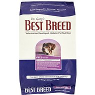 Dr. Gary's Best Breed Holistic Field Dry Dog Food, 30-lb bag