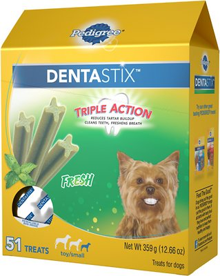5-20 lb Toy//Small Pedigree Dentastix Dental Treats for Dogs Variety of Flavors