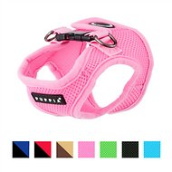 Puppia Soft Vest Dog Harness, Pink, Small
