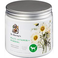Dr. Harvey's Multi-Vitamin & Mineral Herbal Dog Supplement, 7-oz tin