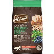Merrick Grain-Free Real Rabbit + Chickpeas Recipe Dry Dog Food, 22-lb bag