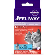 Feliway MultiCat 30 Day Diffuser Refill, 48-mL