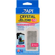 API Crystal Bio-Chem Zorb Filter Cartridge, Size 10, 2 count