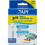 API pH Freshwater Aquarium Test & Adjuster Kit, 250 count