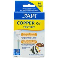 API Copper Cu+ Freshwater & Saltwater Aquarium Test Kit, 90 count