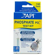 API Phosphate PO4 Freshwater & Saltwater Aquarium Test Kit, 150 count