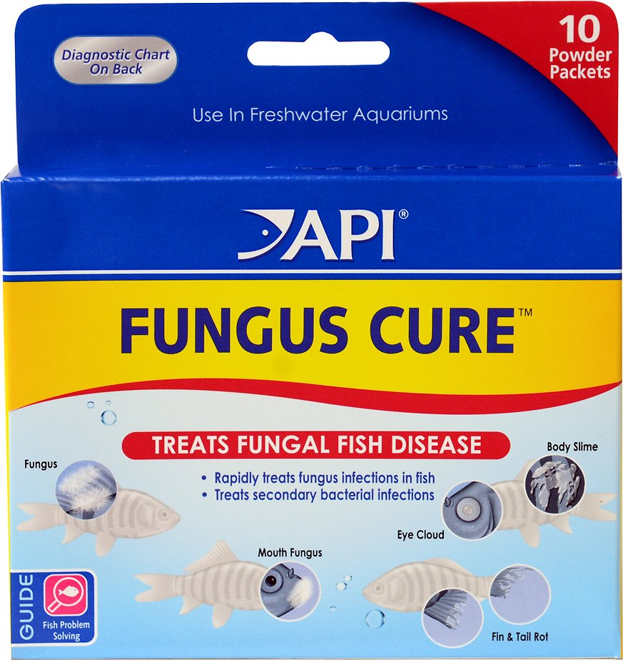 API Fungus Cure Anti-Fungal Freshwater Fish Medication, 10 count