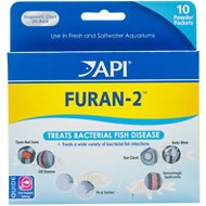 API Furan-2 Powder for Bacterial Disease for Fish, 10-count