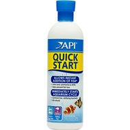 API Quick Start Freshwater & Saltwater Aquarium Water Treatment, 16-oz bottle