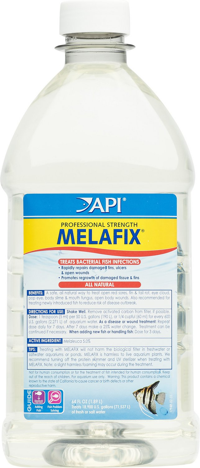 API Melafix Freshwater Fish Bacterial Infection Remedy, 64-oz bottle