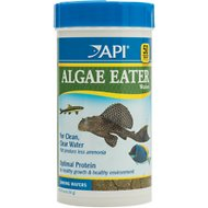 API Optimal Protein Algae Eater Sinking Wafers Fish Food, 6.4-oz bottle