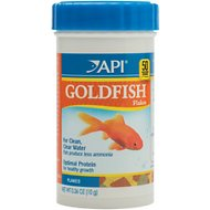 API Optimal Protein Flakes Goldfish Food, .36-oz bottle
