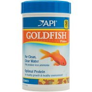 API Flakes Goldfish Fish Food, 5.7-oz bottle